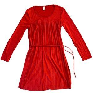 Pretty Red Girls Dress Size L Old Navy